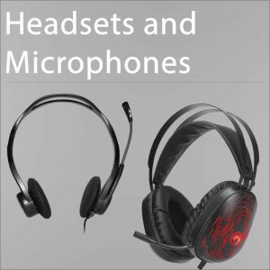 Headsets and Mics